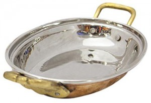 TERA COPPER OVAL DISH- TCOD03