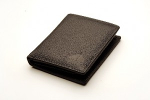Canny & Frank Men's Genuine Leather Wallet SN205 - Black Stitch