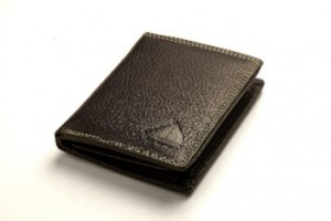 Canny & Frank Men's Genuine Leather Wallet SN205 - White Stitch