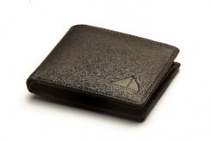 Canny & Frank Men's Genuine Leather Wallet SN201 - Black Stitch