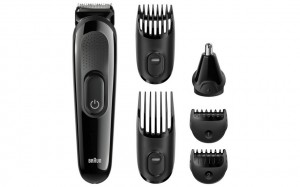 Braun multi grooming kit MGK3020 – 6-in-one face and head trimming kit.