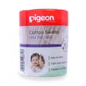 Pigeon Cotton Swabs Thin Stem 200pcs