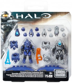 Mega Construx Halo Covenant Armor Customizer Pack