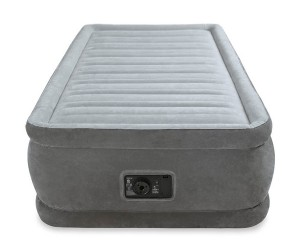 INTEX - TWIN COMFORT-PLUSH ELEVATED AIRBED (w/220-240V Bulit-in Pump) - 64412