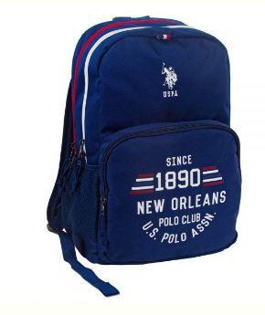 "US POLO Back Pack Blue 18"" - PLÇAN6310"