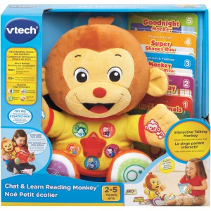 VTech Chat And Learn Reading Monkey -182203