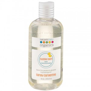 Natures Baby - Bubble Bath - Tangy Tangerine 12 Oz