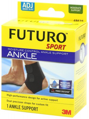Futuro Sport Moisture Control Ankle Support - Adjustable (48635)
