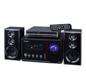Sonashi Dvd Player With Speaker System DVD-2152S