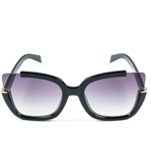 Eight Black Cat-Eye Eight Sunglasses