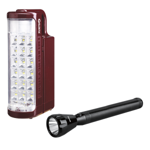 Elekta Rechargeable Lantern and Torch 2 in 1 Combo Pack ELE-T-3005