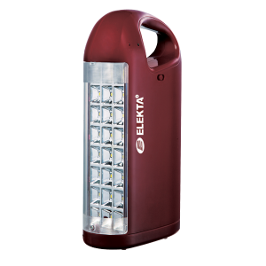 Elekta Rechargeable Lantern with 24pcs SMD LED Light with USB Socket & 4in1 moblile charger ELEDE-1007