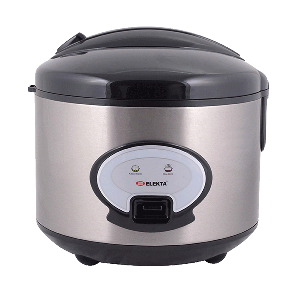 Elekta 1.8L Rice cooker with Stainless steel Outer Shell ERC-186SSMKII