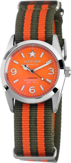 Oxygen Sport Orange Watch 34 Orange