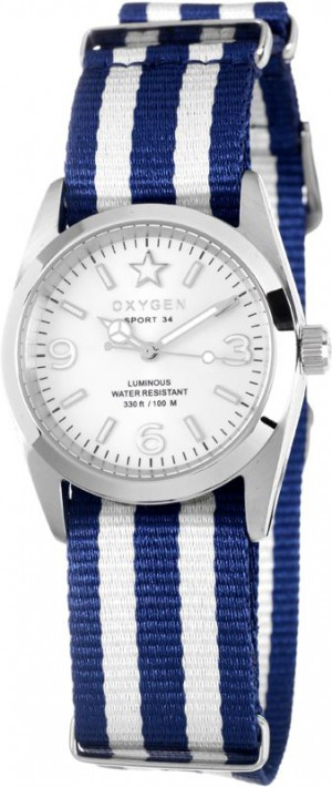 Oxygen Sport 34 Paris Watch Blue / White