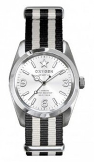 Oxygen Paris 38 unisex quartz Watch Black / Grey