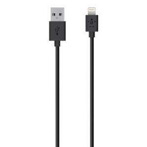 Belkin Mixit Lightning to USB Cable 1.2M/4FT - Black