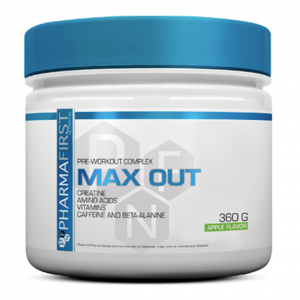 PharmaFirst Max Out Pre-workout Complex - Apple Flavour