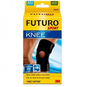 Futuro Sport Neoprene Knee Support - Adjustable - 09039