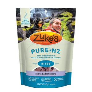 Zuke's PureNZ Jerky Bites New Zealand Recipe Dog Treats - 5 oz. Pouch