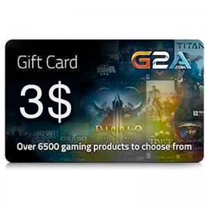 G2A Gift Card 3$