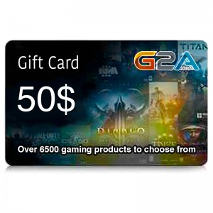 G2A Gift Card 50$