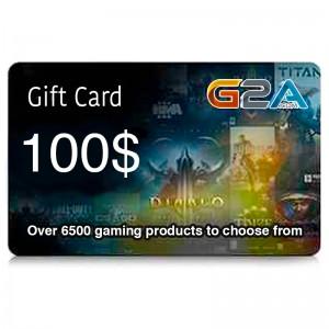 G2A Gift Card 100$