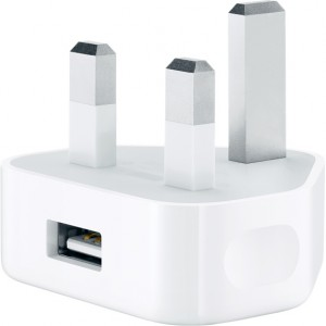 Apple USB Power Adapter 5W - 3 Pins (UK)