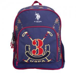 "US POLO  Back Pack Blue 16"" - PLÇAN6397"