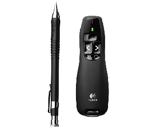 Logitech - R400 Wireless Presenter