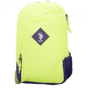 "US POLO Back Pack lime 18"" - PLÇAN6345"