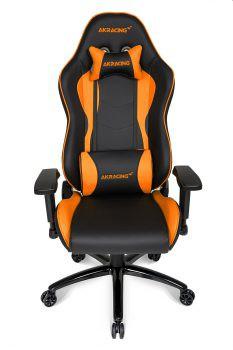 Akracing Nitro Gaming Chair Black Orange Ak Nitro Or