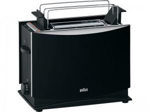 Braun Black toaster HT450
