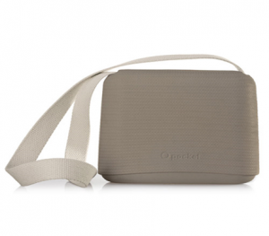 O Pocket In Rock With Canvas Strap - OPB17-OPHC01