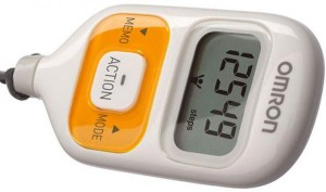 Omron, Step Counter Walking Style-III - Pocket Pedomter (HJ-203-ED)