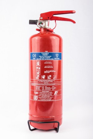 TIANBO 2kg Dry Powder ABC Fire Extinguisher TMPD2