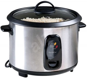 DomoClip DOC100A Rice and Steam Cooker Gray