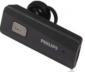 Philips Bluetooth Headset (SHB1600/97) - Black
