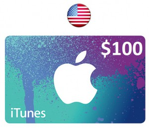 Apple iTunes Gift Card $100
