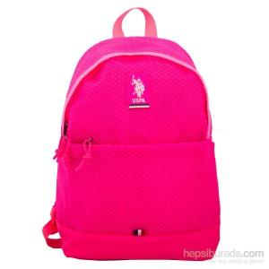 US POLO Back Pack Pink 17.5 - PLÇAN6372