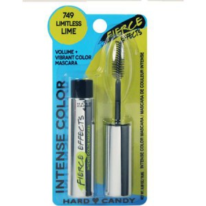Hard Candy Fierce Effects Mascara LIMITLESS LIME Volume Vibrant