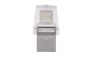 Kingston Digital 32GB Data Traveler Micro Duo USB 3C Flash Drive (DTDUO3C/32GB)