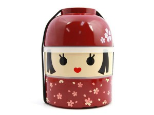Hakoya Kokeshi Bento Hanako Lunch Box Small