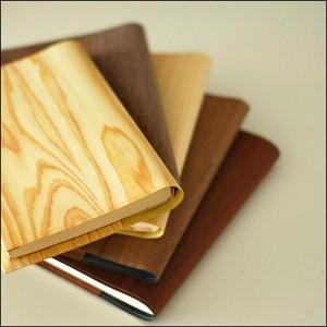 Kizara's Wooden Book cover / Walnut