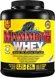 Mammoth Supplements 100% Whey Protein Powder 2.5kg Vanilla
