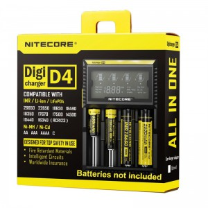 NiteCore D4 Digicharger Universal Charger