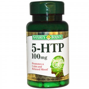 Nature's Bounty Double Strength 5-HTP 100 mg, 60 Tablets