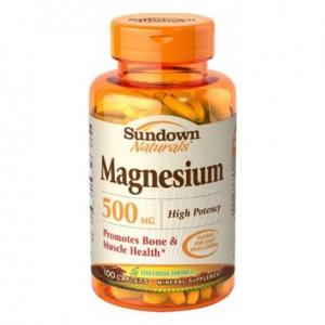 Sundown Magnesium 500 mg - 100 Caps