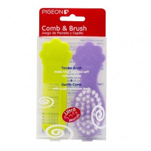 Pigeon baby Comb & Brush Set