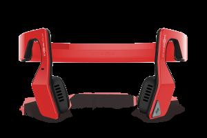 AfterShokz Bluez 2S Wireless Open Ear Headphones,Red
